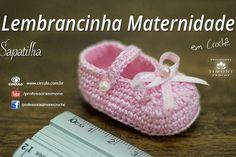 Lembrancinha de Maternidade de crochê aqui  https://www.youtube.com/watch?v=f5fs6I6tS-s #crochet #professorasimone #semprecirculo #clea