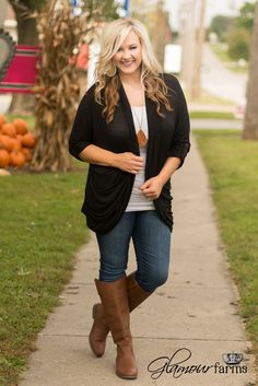 Cute Work Outfits, Fall Outfits For Work, Mom Outfits, Casual Outfits, Fashion Outfits, Plus Size Fall Outfit, Plus Size Outfits, Curvy Fashion, Plus Size Fashion