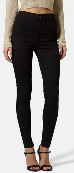 high-rise skinny jeans http://rstyle.me/n/wces2pdpe