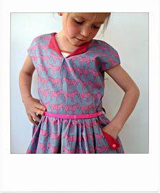 lotta dress, compagnie M, zebra stof, online , www.klijntje.be