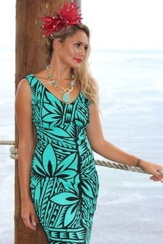 Adventurous, fun and feminine summer clothing inspired by traditional Samoan print designs.