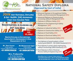 GWG offering online safety diploma courses at affordable cost. http://greenwgroup.co.in/safety-diploma-courses/