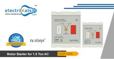 Get Lowest Prices On #Norisys #MotorStarter , 7A to 11.5A Motor Starter and many more @ Electrikals.com #OnlineShopping