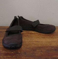 c14d9ada52dc MERRELL 7W 7 Wide Brown Leather JUNGLE MOC SPORT Mary Jane Comfort Flats  NEW  fashion