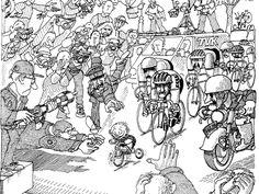 Quino - Taringa! Argentine, Humor Grafico, Memes, Illusions, Vintage World Maps, Funny, Cartoons, Bike, Frases