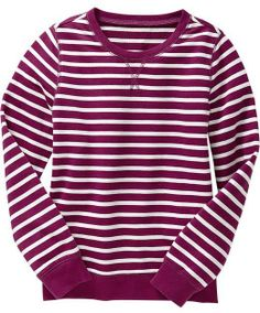 Old Navy Girls Terry Sweatshirts on shopstyle.com