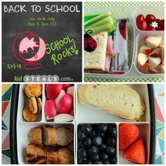 10 Easy Lunches for #BacktoSchool + Tips!