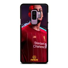 VIRGIL VAN DIJK LIVERPOOL FIFA 2020 Samsung Galaxy S9 Plus Case Cover Vendor: favocasestore Type: Samsung Galaxy S9 Plus case Price: 14.90 This luxury VIRGIL VAN DIJK LIVERPOOL FIFA 2020 Samsung Galaxy S9 Plus Case Cover will give cool style to yourSamsung S9 phone. Materials are from durable hard plastic or silicone rubber cases available in black and white color. Our case makers customize and design each case in finest resolution printing with good quality sublimation ink that protect the… Samsung S9, Samsung Galaxy S9, Black And White Colour, Silicone Rubber, Phone Covers, Fifa, Liverpool, Phone Accessories, How To Look Better