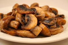 Kalyn's Kitchen: Easy South Beach Recipes: Grilled Mushrooms