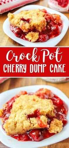 Easy Cherry Dump Cak