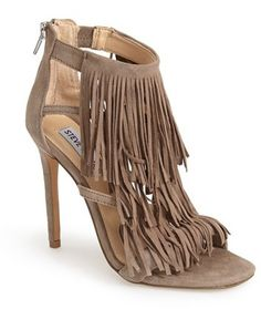 Steve Madden 'Fringly' Sandal (Women) + Click here get the details now