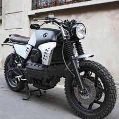 "OVERBOLD MOTOR CO. — #BMW K100 ""Sentinel"" by @basicgarage ⚡! ➖➖➖➖➖➖➖➖..."