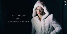 Luis San José shots Angelika Moreno. Behind the scenes  video. #moda #fashion #santander