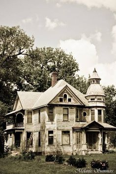 Abandoned house in Kansas. This looks like the first real abandoned home I saw that got me fascinated with them. I can still see that house in Montana in my mind and I still wonder why the people left.