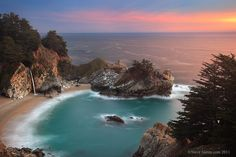 This is just to die for-Mcway Falls Big Sur
