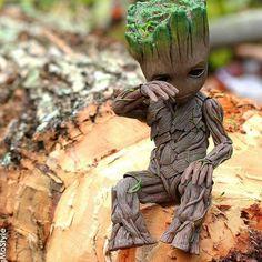baby Groot...