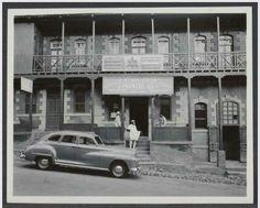 Historical Photo:- Addis Ababa, Ethiopia. (possibly Piassa area, Banian sefer) 1940-50s