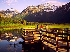 Eagle River Nature Center, Eagle River Alaska