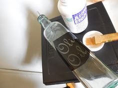 Sarah's World: Silhouette Cameo Glass Etching Tutorial