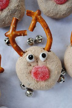 Reindeer Treats for lula's party at gmas