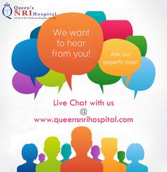 Live Chat with our experts at www.queensnrihospital.com For more details dial: 0891-2827777
