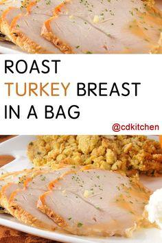 Made with all-purpose flour, bone-in turkey breast, salt, black pepper, butter, onion, bay leaves | CDKitchen.com
