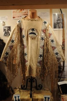 Ft. Peck Sioux War Shirt ca. 1880's