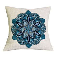 Mandala Design Cushion Cover