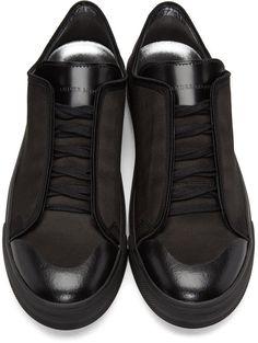 Alexander McQueen Black Lars Sneakers mqvaCWzGpf