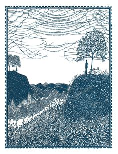 Astonishingly Intricate Cut Paper Illustrations by Rob Ryan - 'Like Time It Waits For Nobody'