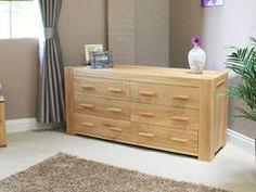 Baumhaus ATLAS Large Chest of Drawers 3 plus 3