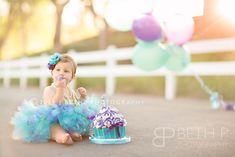 Baby Aubree | Temecula Cake Smash Photographer