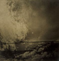 Olive Cotton - Sky Submerged - c. 1937.  I'm not sure if it's art or photography or both but it's awesome!