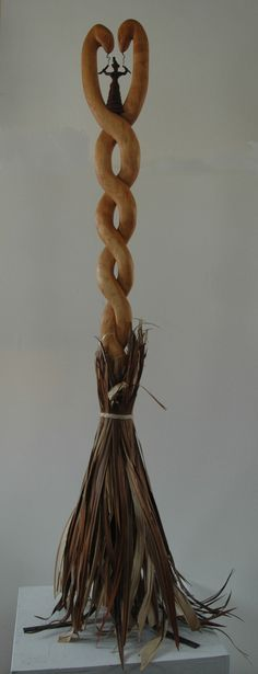 A one of of kind . The little witch at the top was a perfect touch.I want this besom !