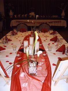Die 15 Besten Bilder Von Tischdeko Rot Grau Red Wedding Flowers