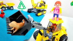 Toys for kids! New video of the dog rescue. Working machines Игрушки для...