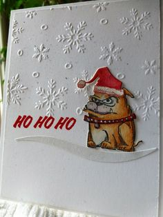 X-mas Critter, WT608 by Carrie3427 - Cards and Paper Crafts at Splitcoaststampers