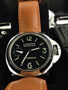 Panerai Watch Model 111  Brand new unworn comes with complete set and warranty 2014. PM me at dennis.dpgroup@gmail.com for price enquiry* Panerai 111, Panerai Watches, Luminor Marina, Richard Mille, Watch Model, Accessories, Tag Watches