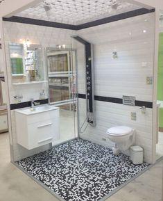 Idei și sfaturi pentru amenajarea băilor mici | Adela Pârvu - Interior design blogger Clawfoot Bathtub, Vanity, Mirror, Bathroom, Merlin, Interior, Furniture, Design, Home Decor