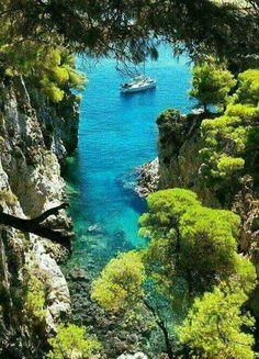 Skopelos island, Sporades, Greece