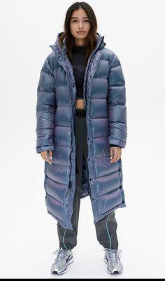 Boat Neck Billow Skirts Coat Medium and Long Printed of Womens Down Jacket
