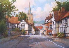 ian ramsay watercolors | Woebley, Herefordshire, England