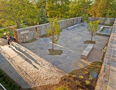 The New Rock Garden offers a fresh and uniquely Canadian horticultural collection - Janet Rosenberg & Studio - #landscapearchitecture #botanic #garden #rock #granite #stone #paving #slabs