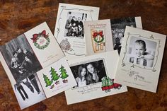 Christmas Cottage Cards by Jamie Schultz Designs #holiday cards #templates