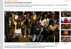 Stephan Bauer: Ferguson/USA--Gleiches Recht für alle gleich???!!!...