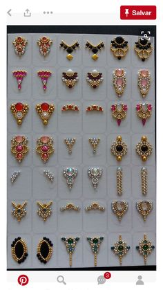 Best nails art designs with gems ideas Swarovski Nails, Crystal Nails, Rhinestone Nails, Bling Nails, Bling Bling, 3d Nail Art, Cool Nail Art, Art 3d, Gorgeous Nails