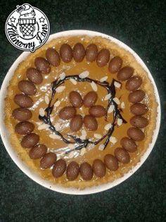 """Kulinarny lans: """"Wielkanocny mazurek"""", czyli ciasto z masą krówkową #mazurek #Wielkanoc @Shereice Harker"""