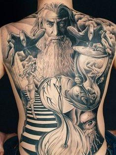 Andy Engel Tattoo - Studio für fotorealistische Tattoos in Markststeft Backpiece Tattoo, Tattoo Henna, Tattoo You, Tattoo Girls, Tattoos Motive, Body Art Tattoos, Sleeve Tattoos, Cool Back Tattoos, Back Tattoos For Guys
