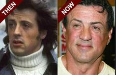 Sylvester Stallone - even in his mature years, he does not look bad. Rocky is back.