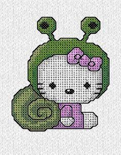 Hello Kitty chiocciolina di IricamidiValli su Etsy